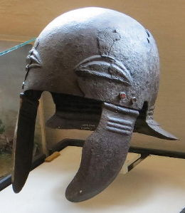 Roman helmet from the Opočno castle